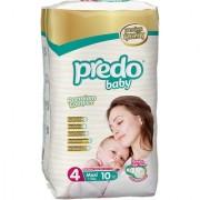 Predo Baby MAXI Standard Pack - 7-18 Kg 10 Pcs