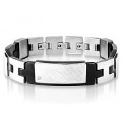 Armband Inori Identity Steel Black – utan gravyr