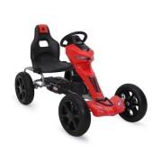 Kart cu pedale pentru copii Go Kart 1502 Red