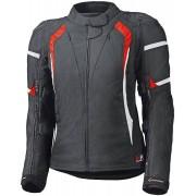 Held Luca GTX Textile Jacke Chaqueta textil de las señoras Negro Rojo XS