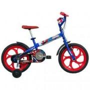 Caloi Bicicleta Caloi Spider Man - Aro 16 - Infantil - AZUL/VERMELHO