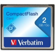 Verbatim CF Card 2 GB Compact Flash Class 4 4 MB/s Memory Card