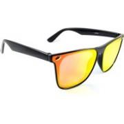 SWAG EYEWEAR Wayfarer, Sports, Over-sized Sunglasses(Red, Black, Multicolor)