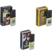 My Tune Combo Devdas-Kabra Yellow-Titanic Perfume