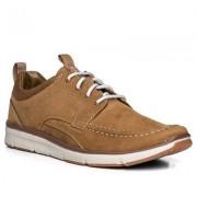 Clarks Schuhe Herren, Velours, braun