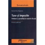 Taxe si impozite - Daciana-Elena Singeorzan