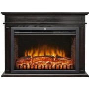 Semineu electric Home FKK 22 2 trepte de putere 2000W termostat telecomanda negru