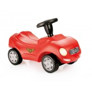Masinuta fara pedale, cu claxon, volan, din plasric, ride-on car, racer - Dolu