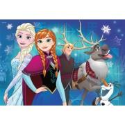 Puzzle Ravensburger - Frozen, 2x24 piese (09074)