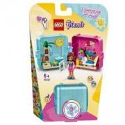 Конструктор Лего Френдс - Летният куб за игра на Olivia - LEGO Friends, 41412