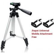 Jhapat Tripod-3110 40.2 Inch Portable Camera Tripod With Three-Dimensional Head Quick Release Plate For Canon Nikon So