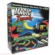 Magic Tracks 165 Mágikus autópálya LED-es kisautóval