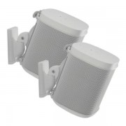 Sanus WSWM22 Speaker Mount For Sonos® One, PLAY:1, PLAY:3, 2 Pcs., Whi