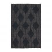 House Doctor - Cubie Teppich, 130 x 85 cm, schwarz