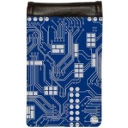 Nutcase Circuit Board Blue Waist Bag(Multicolor)