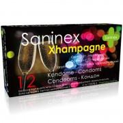 Saninex xhampagne preservativos aromáticos 12 uds