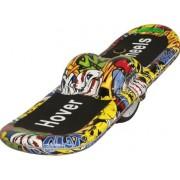 Skateboard electric Nova Vento WME6 Street Art, Viteza maxima 15 km/h, Autonomie 19 km (Multicolor)