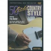 Hal Leonard 50 Licks - Country style DVD