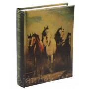 Bőrhatású fényképalbum lovak 200db 15x10cm-es képhez ARTE13 KD46200 - Fényképalbum