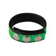 Mister B XL Stripe C Strap Neon Green 500170