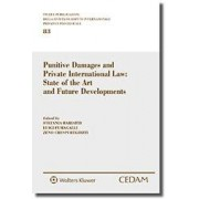 Punitive damages and private international law: state of the art and future developments, Fumagalli, Cedam, 2019, Libri, Diritto internazionale e comu