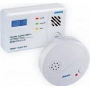 Kit detector monoxid de carbon ORNO OR-DC-619 si detector de fum ORNO OR-DC-609