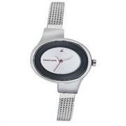 Fastrack Quartz Silver Dial Women Watch-6015SM01