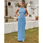 Lady Pipa Vestido Artemisa azul