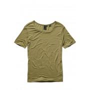 G-Star RAW T-Shirt, Kreis-Ausschnitt, Straight-fit grün