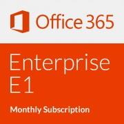 Microsoft Office 365 Enterprise E1 - Monatsabonnement (1 Monat)
