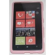 Силиконов гръб ТПУ за Nokia Lumia 820 Розов