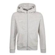 Nike Hoodie Team Club FZ Grijs Kinderen