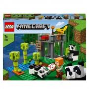 Lego Minecraft (21158). L'allevamento di panda