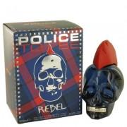 Police To Be Rebel For Men By Police Colognes Eau De Toilette Spray 4.2 Oz