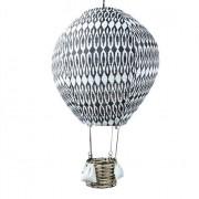Strömshaga Luftballongslampa Mönstrad Svart