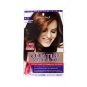 Keratine Color Haarverf 4.3 Subtiel Mahonie