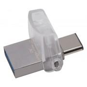 32GB DataTraveler MicroDuo 3C USB 3.1 flash DTDUO3C/32GB srebrni
