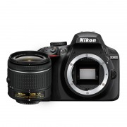 Nikon D3400 Kit AF-P DX 18-55mm f/3.5-5.6G VR Lens Digital SLR Camera - Black
