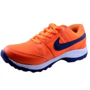 Dolly Shoe Company Men's Orange Running Shoes