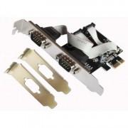 L-Link Placa PCI-e 2 Portas Serie RS232