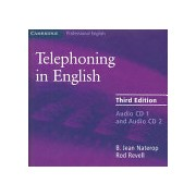 Telephoning in English (Naterop B. Jean)(CD-Audio) (9780521539135)