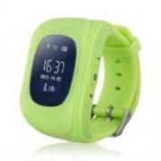 GPS nyomkövető okosóra gyerekeknek - SOS gyorsgomb funkcióval, háromféle színben - Zöld