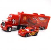 2 Pièces Voitures Jouet Pixar Cars # 95 Mcqueen Et Mack Truck Model
