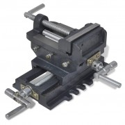 Manually Operated Cross Slide Drill Press Vice