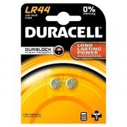 Pile Duracell Specialistiche - bottone alkalino - 1,5 V - LR44 (conf.2) - 284177 - Duracell