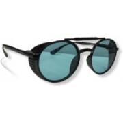Unique Round, Oval Sunglasses(Green)