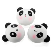 Meistoyland Squishy Panda Bun 8cm Slow Rising With Packaging Collection Gift Decor Soft Toy