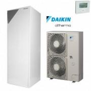 Daikin Altherma ERLQ016CW1 / EHVH16S26CB9W hőszivattyú 260 L HMV-tároló Fűtés 16 kW