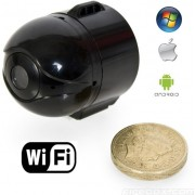 Mini SPY IP Wifi kamera s live přenosem