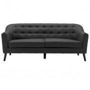 nimarahome.de Mason - 3-Sitzer-Sofa, grau